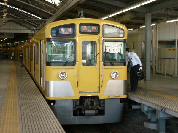 2013-04-28 西武2097F 各停保谷行き