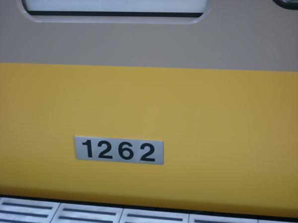 西武1261F 車番 2012-10-21