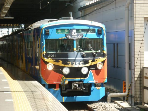 2013-05-02 西武3011F 準急所沢行き1