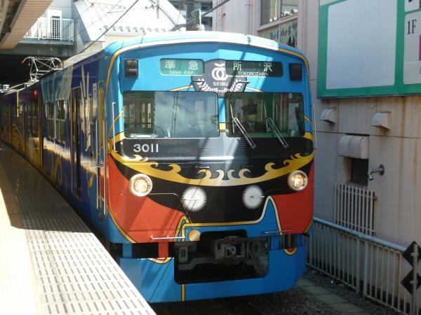 2013-05-02 西武3011F 準急所沢行き2
