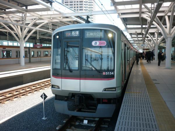 2013-05-02 東急5154F 各停石神井公園行き