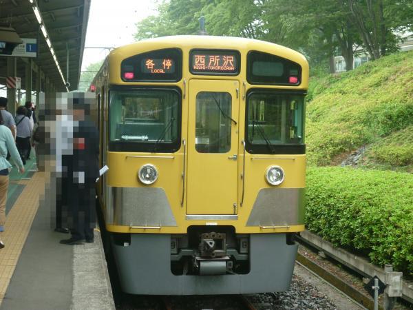 2013-05-11 西武2083F 各停西所沢行き1