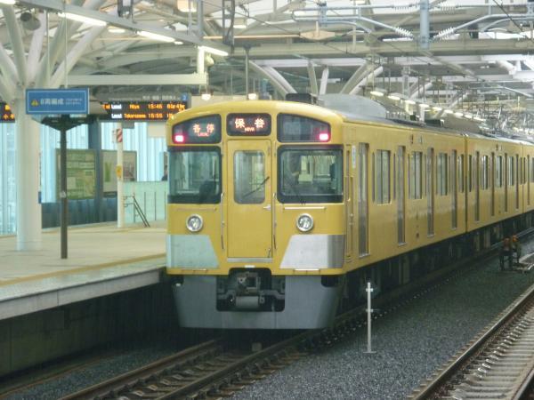 2013-05-11 西武2097F 各停保谷行き2