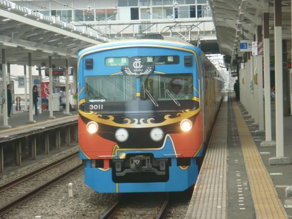 2013-05-19 西武3011F 準急飯能行き1