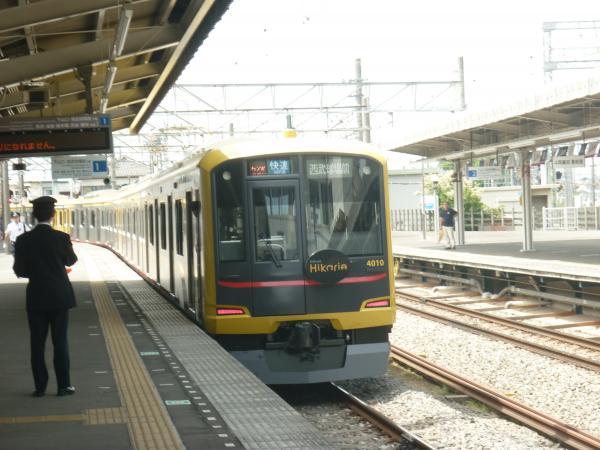 2013-05-19 東急4110F 快速西武球場前行き