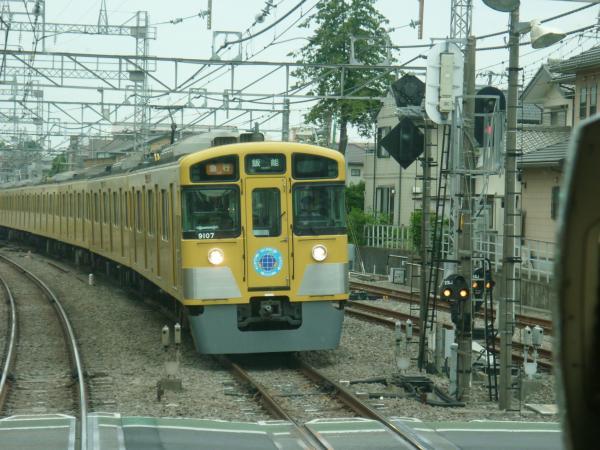 2013-05-25 西武9107F 急行飯能行き