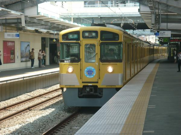 2013-05-25 西武9107F 準急飯能行き
