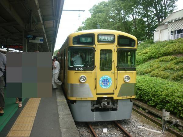 西武9108F 準急西武球場前行き5 2012-06-23