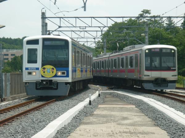 2013-06-09 西武6155F 東急4109F