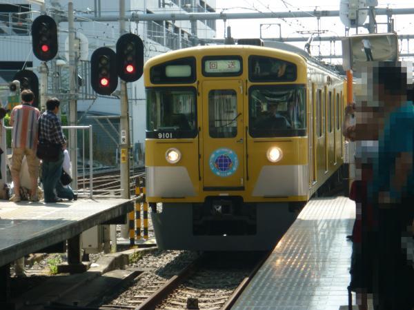 2013-06-09 西武9101F 回送