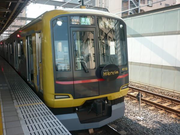 2013-06-09 東急4110F 準急小手指行き