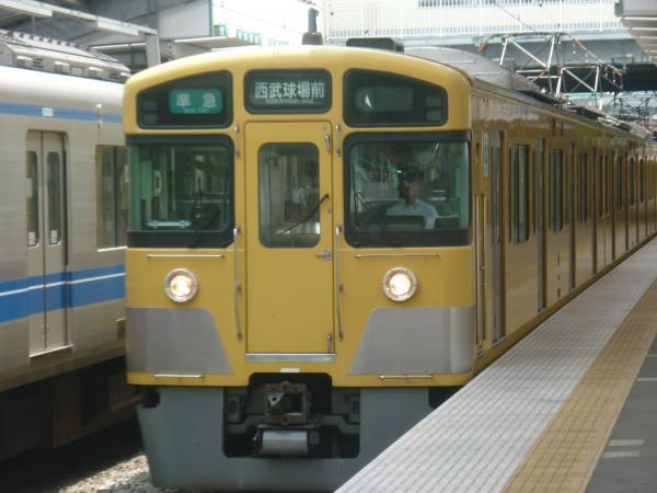 2013-06-15 西武2063F 準急西武球場前行き