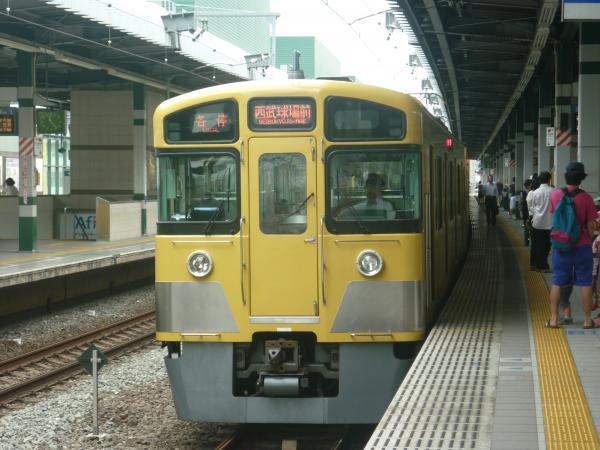 2013-06-15 西武2097F 各停西武球場前行き2