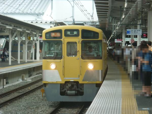 2013-06-15 西武2461F+2501F+2503F 急行池袋行き1