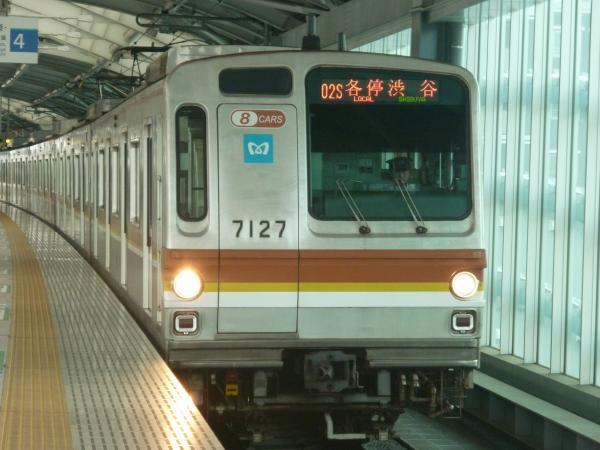 メトロ7127F 各停渋谷行き 2012-06-24