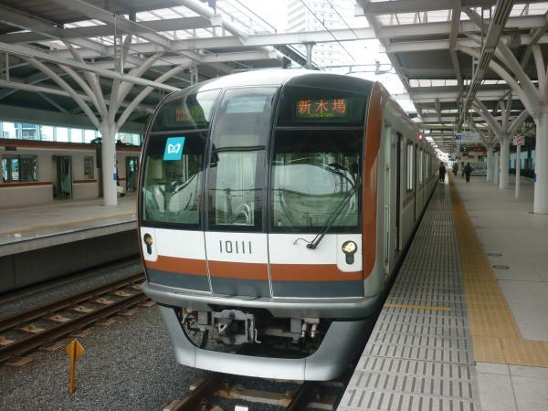 メトロ10111F 準急新木場行き2 2012-06-23