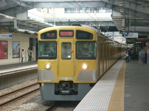 2013-06-22 西武2085F 各停西武球場前行き