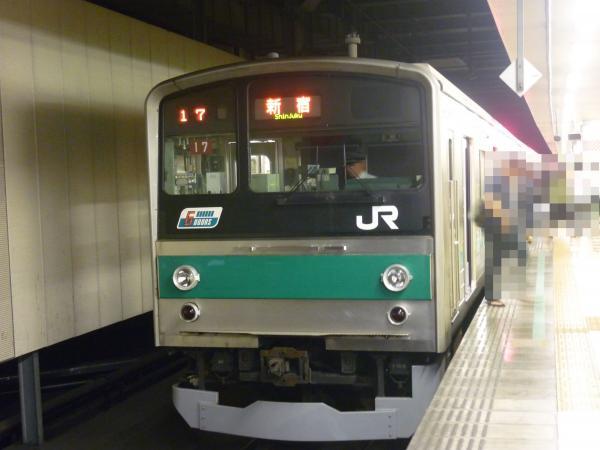 2013-06-23 埼京線205系ハエ17編成 新宿行き