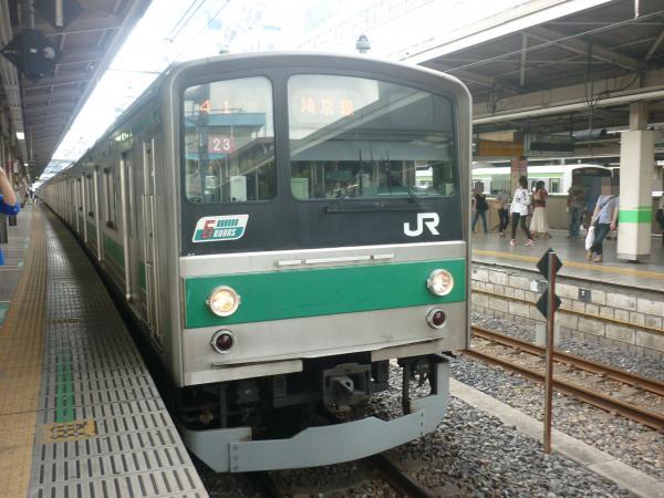2013-06-23 埼京線205系ハエ23編成 大宮行き