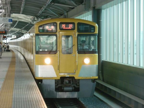 2013-06-29 西武2073F 各停所沢行き