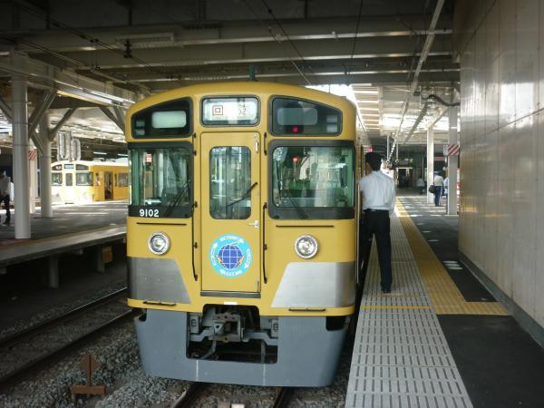2013-06-29 西武9102F 回送