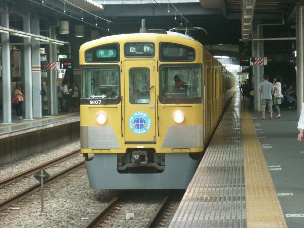 2013-06-29 西武9107F 準急飯能行き