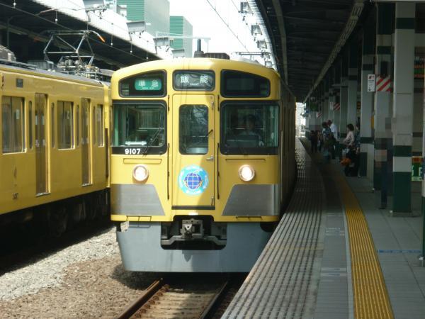 2013-06-30 西武9107F 準急飯能行き
