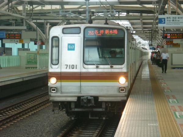 2013-07-06 メトロ7101F 各停新木場行き