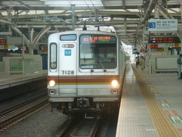 2013-07-06 メトロ7128F 各停元町・中華街行き