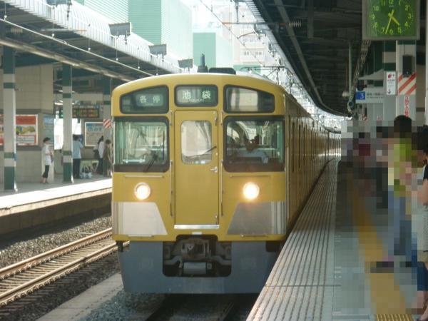 2013-07-06 西武2501F+2503F 各停池袋行き