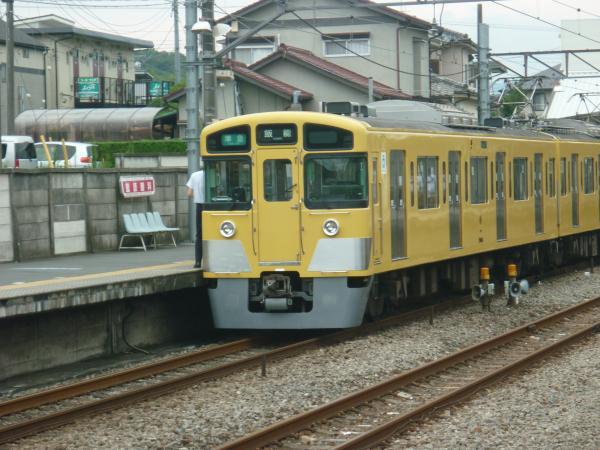2013-07-06 西武2501F+2503F 準急飯能行き2
