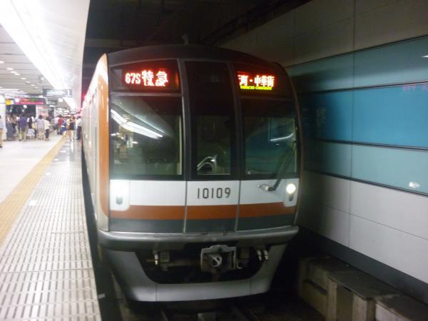 2013-07-07 メトロ10109F 特急元町・中華街行き