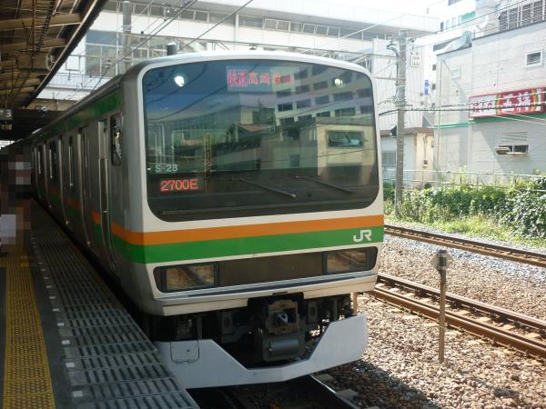 2013-07-07 JRE231系 湘南新宿ライン 快速籠原行き