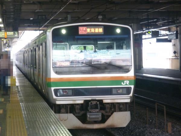 2013-07-07 JRE231系 東海道線 快速アクティー東京行き
