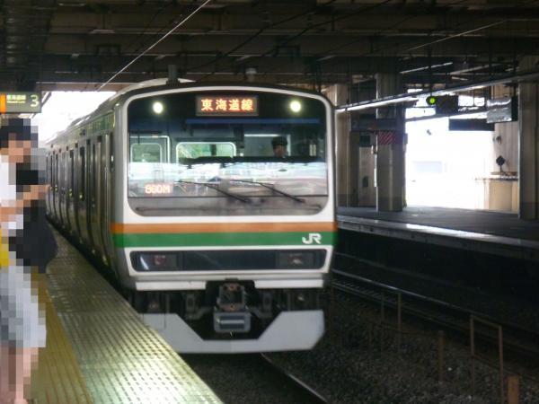 2013-07-07 JRE231系 東海道線 東京行き