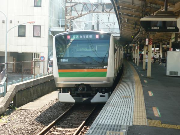 2013-07-07 JRE233系 東海道線 普通平塚行き