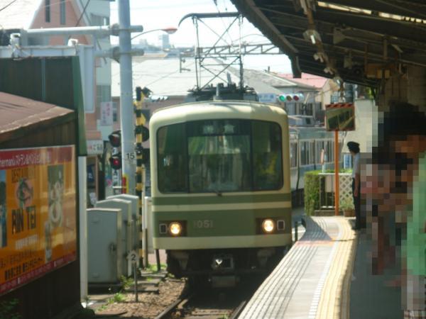 2013-07-07 江ノ電 鎌倉行き1