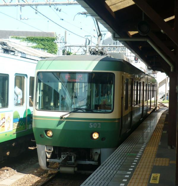 2013-07-07 江ノ電 藤沢行き2