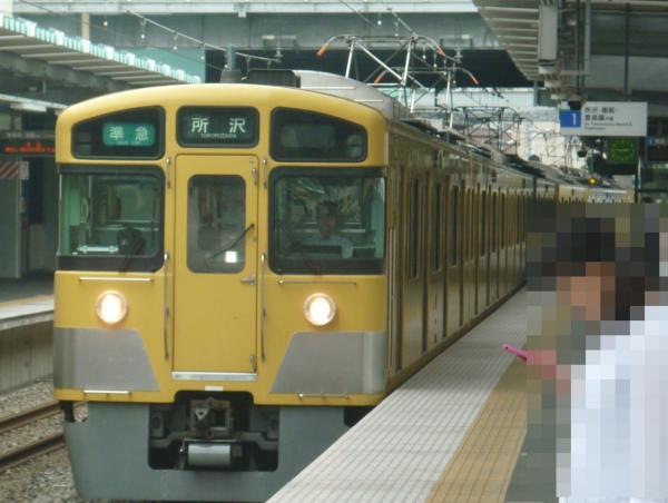2013-07-13 西武2063F 準急所沢行き