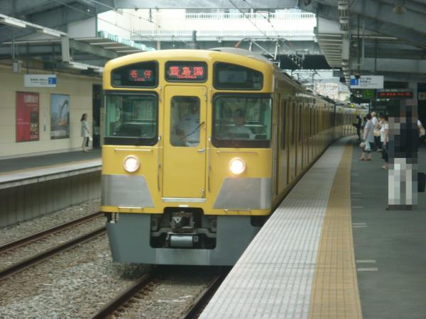 2013-07-13 西武2073F 各停豊島園行き1