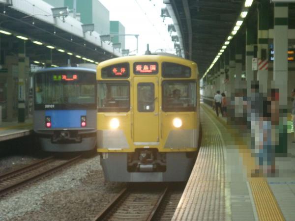 2013-07-13 西武2073F 各停豊島園行き2
