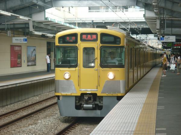 2013-07-13 西武2087F 各停豊島園行き