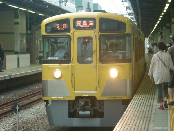 2013-07-13 西武2097F 各停豊島園行き2