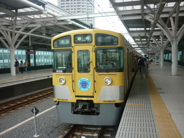 2013-07-13 西武9108F 準急飯能行き2