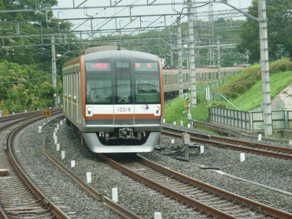 2013-07-24 メトロ10118F 快速急行飯能行き