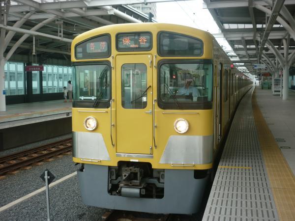 2013-07-24 西武2083F 各停保谷行き2
