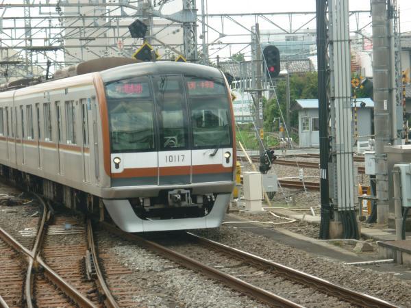 2013-07-26 メトロ10117F 快速急行元町・中華街行き