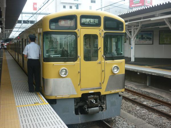 2013-07-26 西武2529F+2049F 急行西武新宿行き2