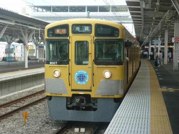 2013-07-26 西武9107F 急行池袋行き