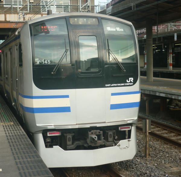 2013-07-28 JRE217系 快速久里浜行き
